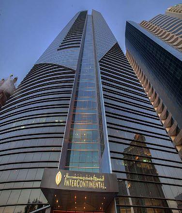 InterContinental Hotel (Silhouette Tower), West Bay, Doha, Qatar